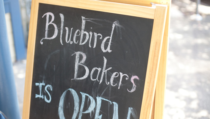 Bluebird Bakers Cookie Bar, Portland, Oregon