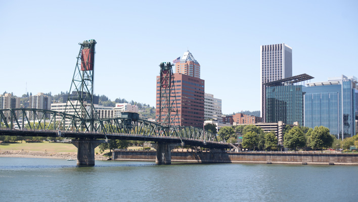 Eastbank Esplanade, SE Portland, Oregon