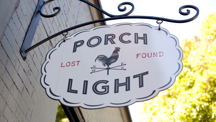 Porch Light, NW Portland, Oregon