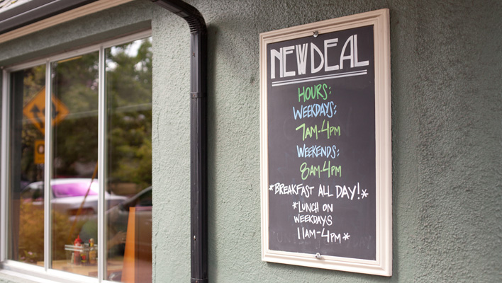 New Deal Cafe, Portland, OR