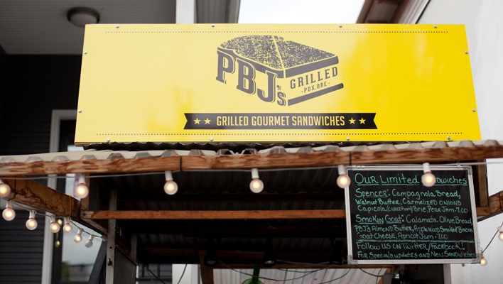 PBJ's Grilled Food Cart, Portland, Oregon