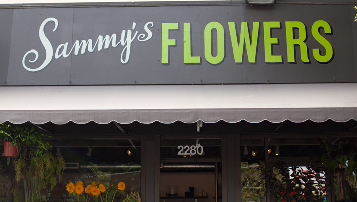 Sammy's Flowers, Portland, Oregon